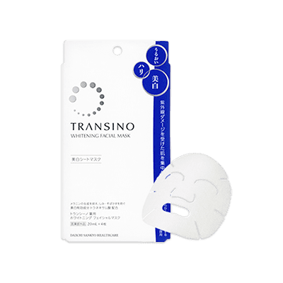 Transino Medicated Whitening Facial Mask