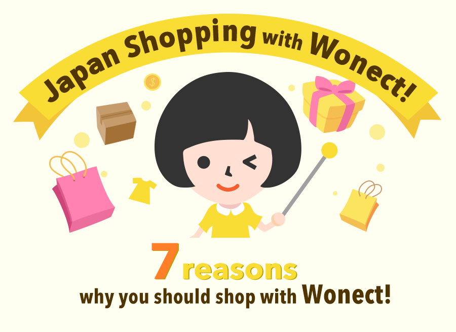 Seven reasons to shop with Wonect